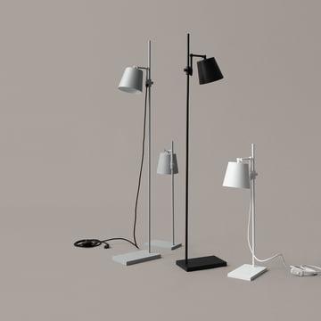 Steel Lab Light Stehleuchte und Tischleuchte