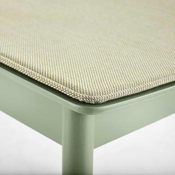 Pause Sitzkissen von Woud in Grün