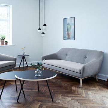 Woud - Peppy Sofa 2-Sitzer, Hallingdal 130