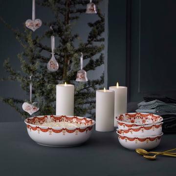 Weihnachtsgeschirr von Bjørn Wiinblad