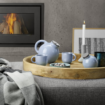 Globe Kollektion in Nordic Blue