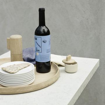 Paddle Gewürzmühle und Nordic Tablett