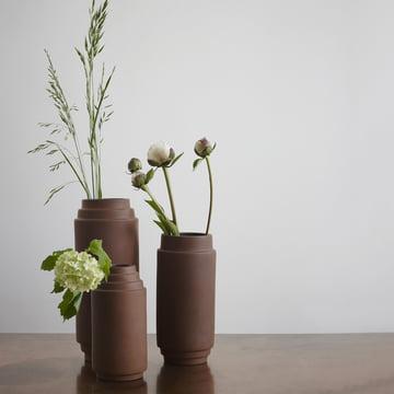 Edge Vase von Skagerak aus Terrakotta