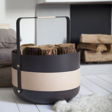 Holzkorb für Kaminholz von Eldvarm