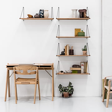 Loop Shelf, Field Desk und Dining Chair no. 1
