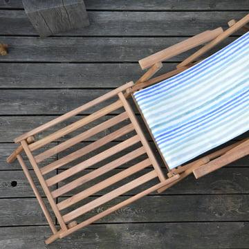 Maxx Fussteil von Jan Kurtz in Teakholz mit Deckchair