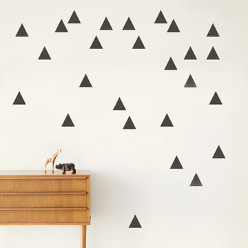 Mini Triangles Wallstickers Von Ferm Living