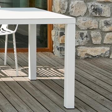 Easy Tisch von Fast in Weiss