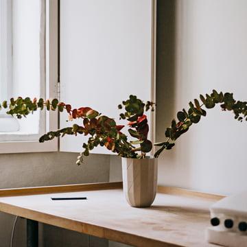 Die Hay - Paper Porcelain Vase