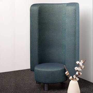 Der Pulpo - Kaboom Chair dekorativ im Raum platziert
