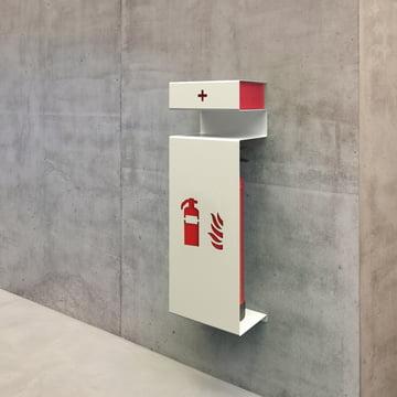 Fire Feuerlöscherhalter inkl. Ablage von Konstantin Slawinski