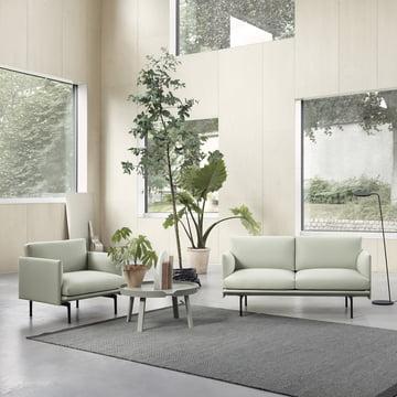 Outline Studio Sessel und Sofa von Muuto