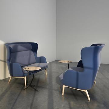 Das Fritz Hansen - Ro Sofa im Wohnbereich
