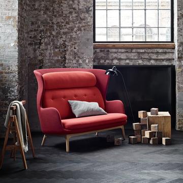Das Fritz Hansen - Ro Sofa in der Sitzecke