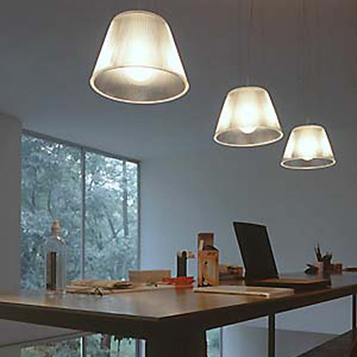 Pendelleuchte Romeo Moon von Philippe Starck für Flos