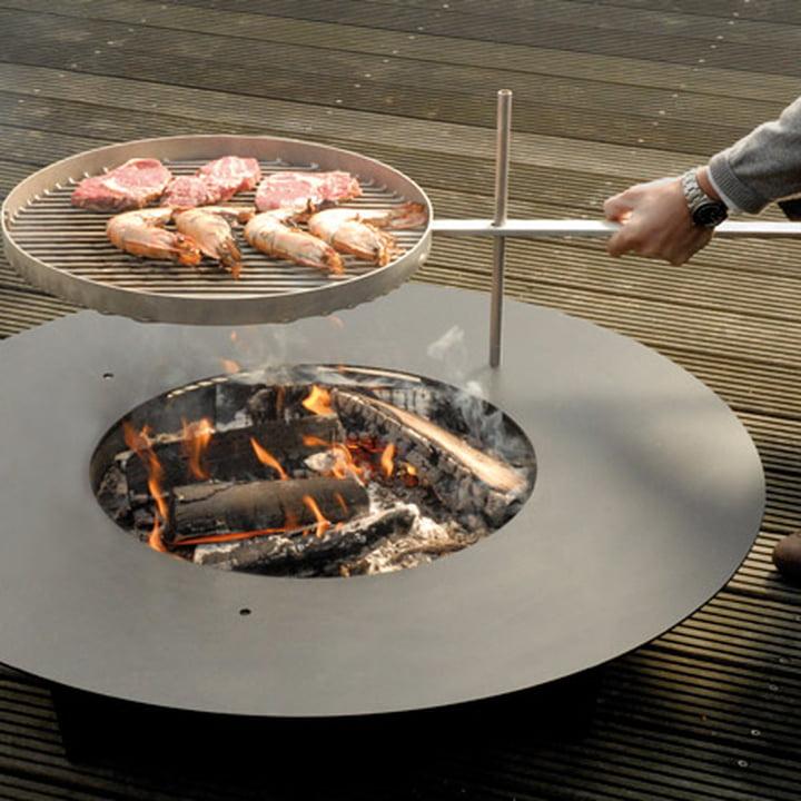 Fireplate Grill- und Feuerstelle