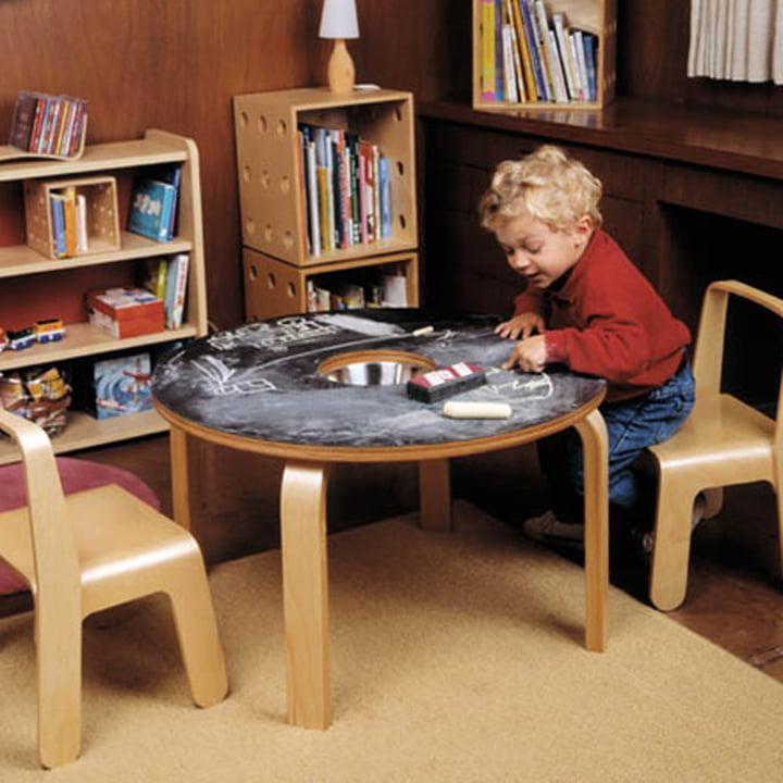 Look Me Kinderstuhl & Kreidetafel-Tisch