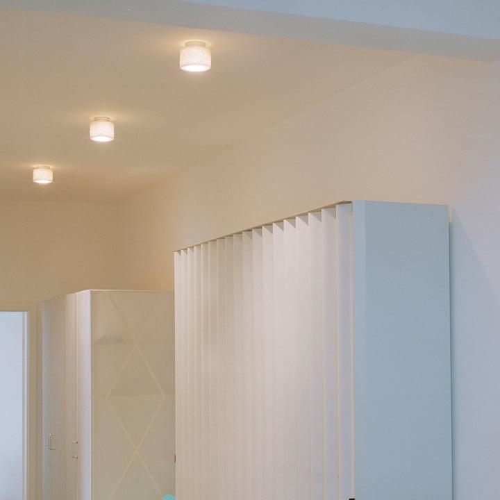 Für Korridore und Flure geeignet