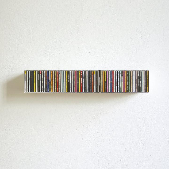 Connox Wohndesign: Linea1 B CD-regal