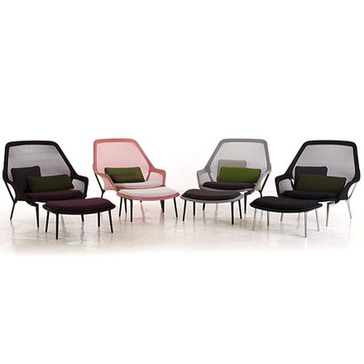 Slow Chair & Ottoman von Vitra