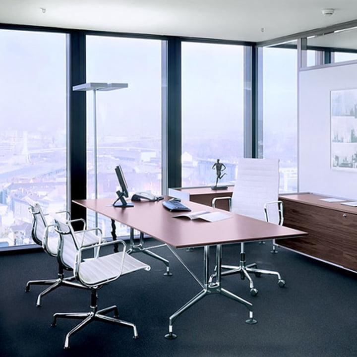 Vitra - Aluminium Group EA 1117 - 19 Bürostuhl