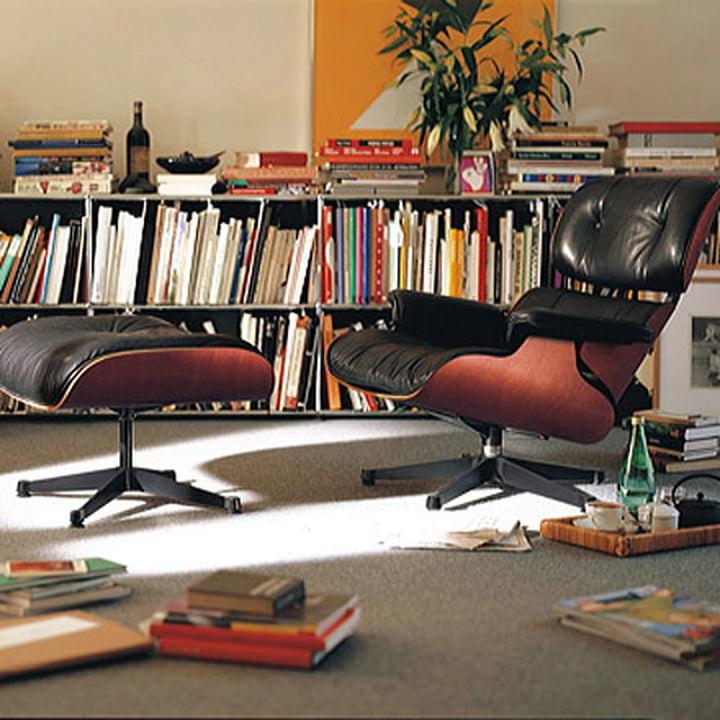 Lounge Chair und Ottoman von Vitra