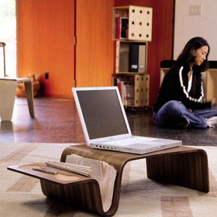 Praktische, tragbare Arbeitsfläche mit dem Offi Overlap Tray