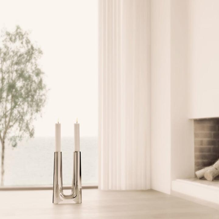 copenhagen kerzenhalter von georg jensen. Black Bedroom Furniture Sets. Home Design Ideas