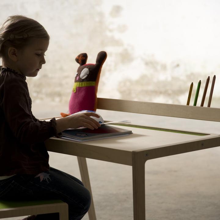 Sibis Afra Kindertisch, grün