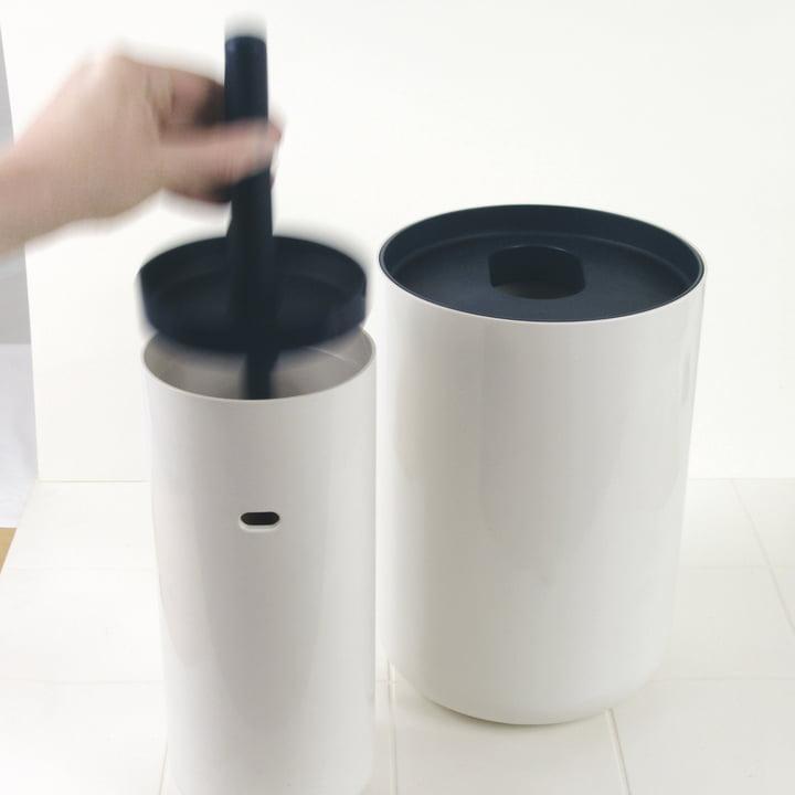 Lunar WC-Bürste mit Deckel