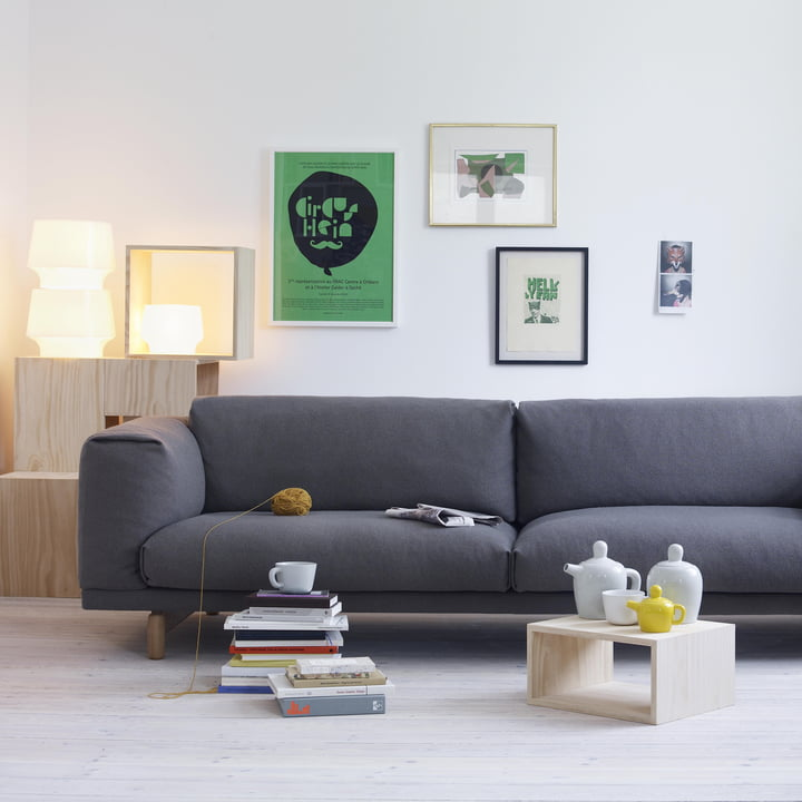 Bequemes Rest Sofa von Muuto