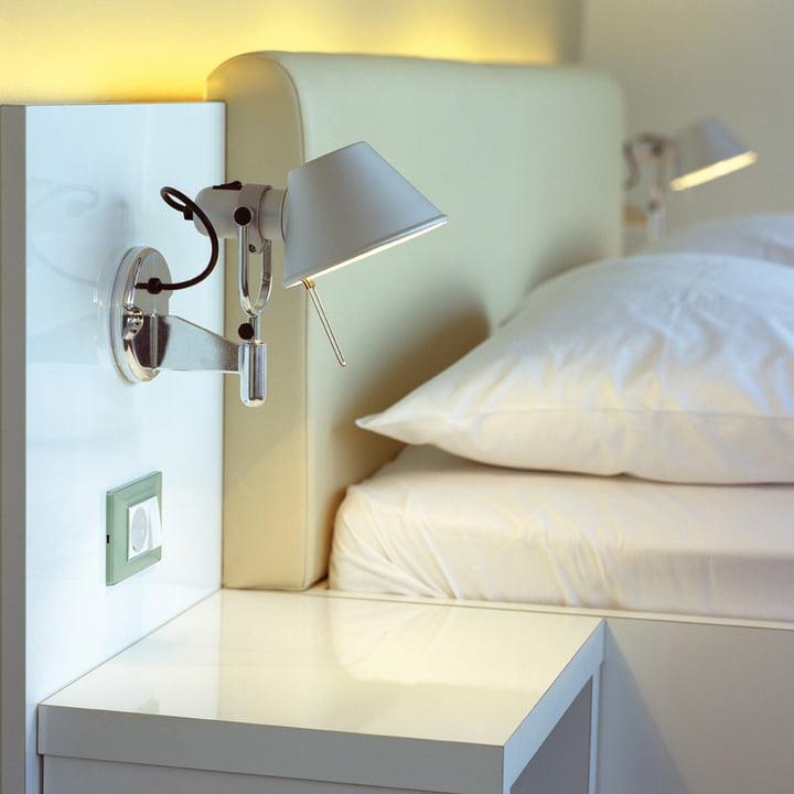 Ideal als Leselampe neben dem Bett