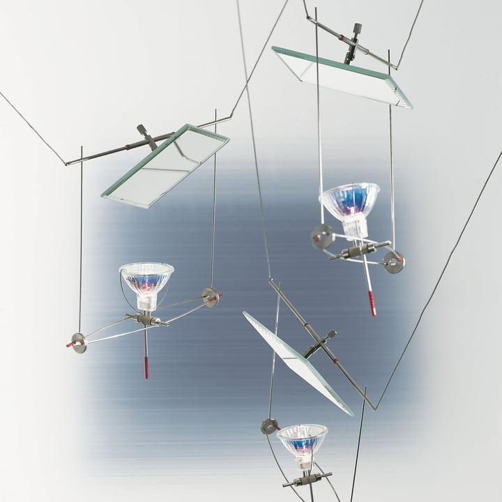 Ingo Maurer - YaYaHo Lichtsystem, Element 2 Spiegel