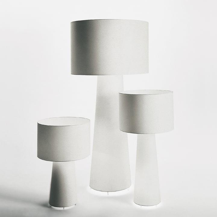 Cappellini - Progetto Oggetto Leuchten PO/9810, 9811 und 9815