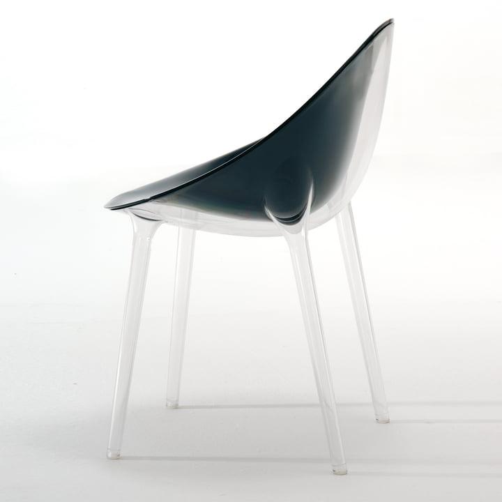 Kartell - Mr. Impossible Stuhl, transparent / schwarz