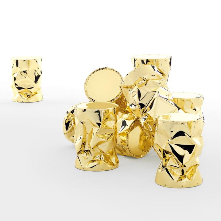 Opinion Ciatti - Tab.U Collection Beistelltisch, gold