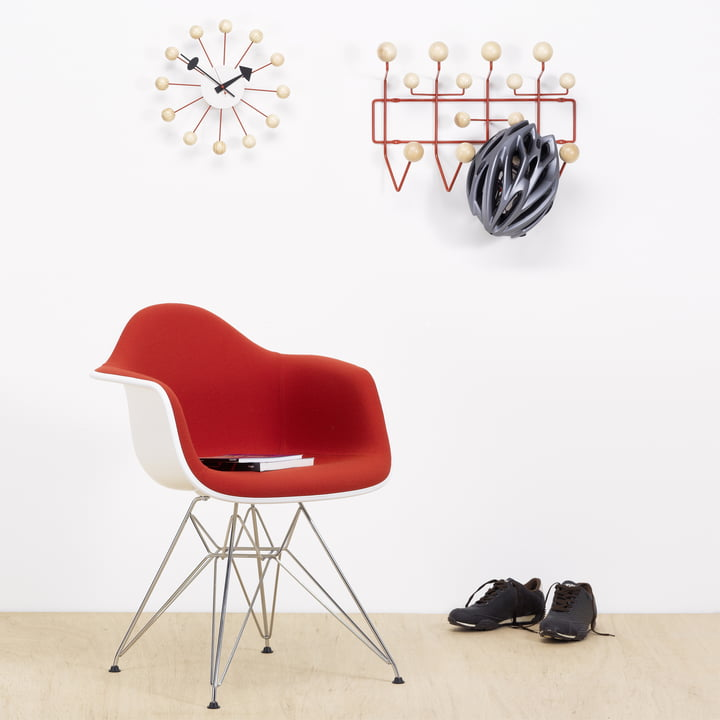 Vitra Hang it all Garderobe (Special Edition), Fichte/rot