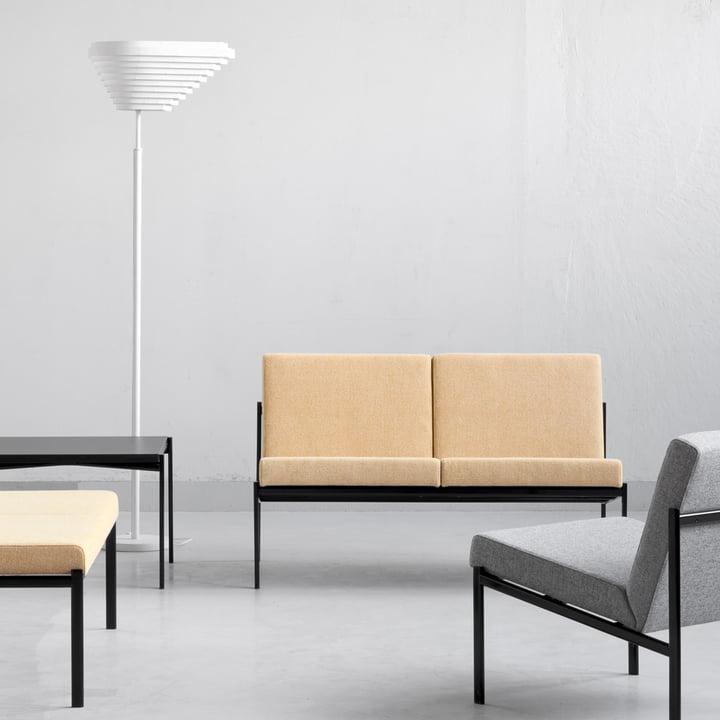 Artek - Kiki Sofa 2-Sitzer