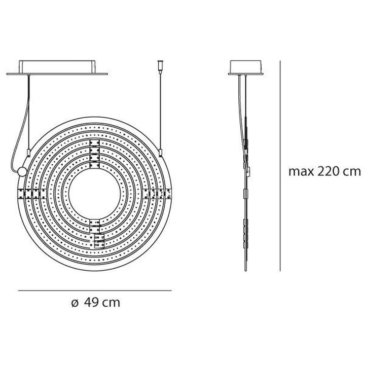 Artemide - Copernico 500 LED Pendelleuchte
