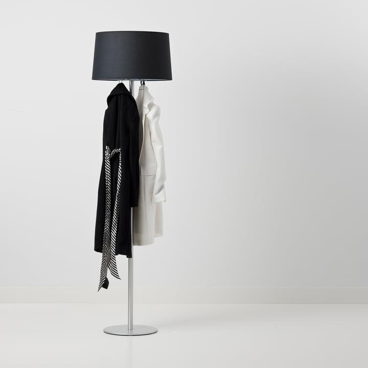 Cascando - Coat Lamp, schwarz