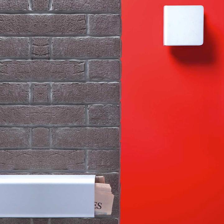 Authentics - Entrance Namensschild, Newspaper, Lampe, Briefkaste