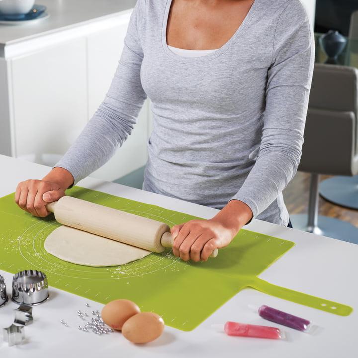 Joseph Joseph - Roll-up Backmatte, grün
