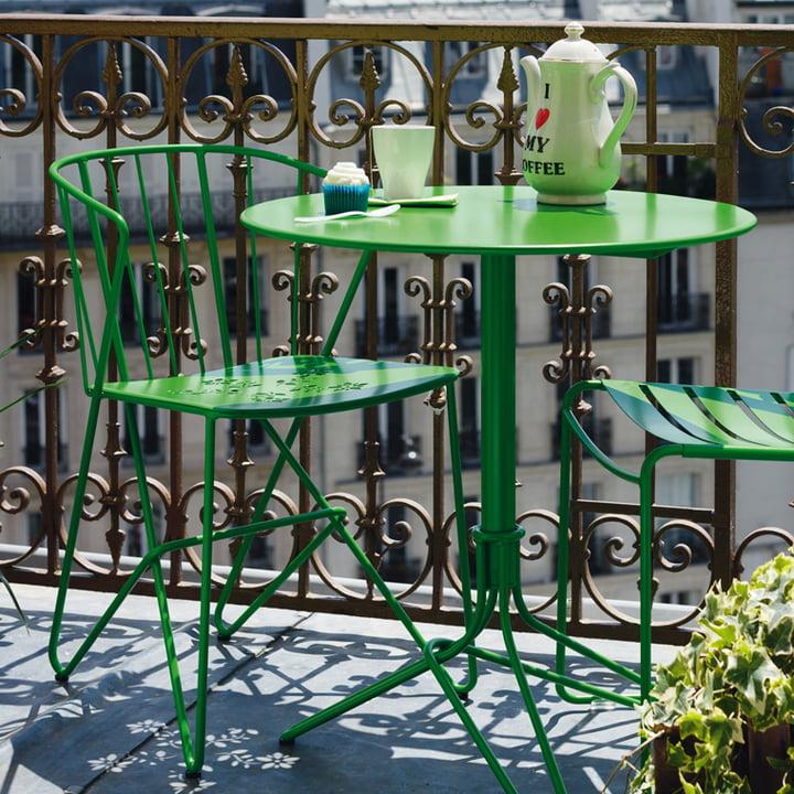 Flower Sessel und Tisch mit Surprising Stuhl