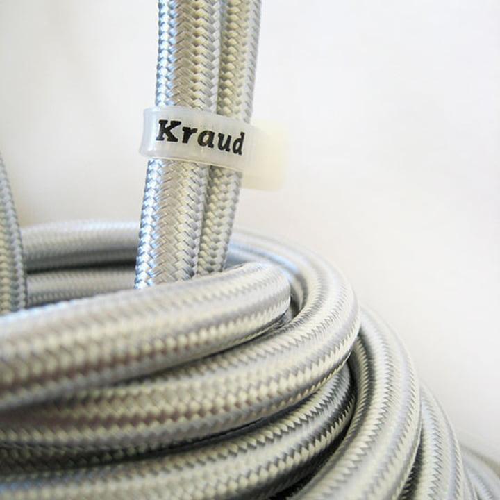Kraud - Super-Light Classic, silver - Kabel, Logo