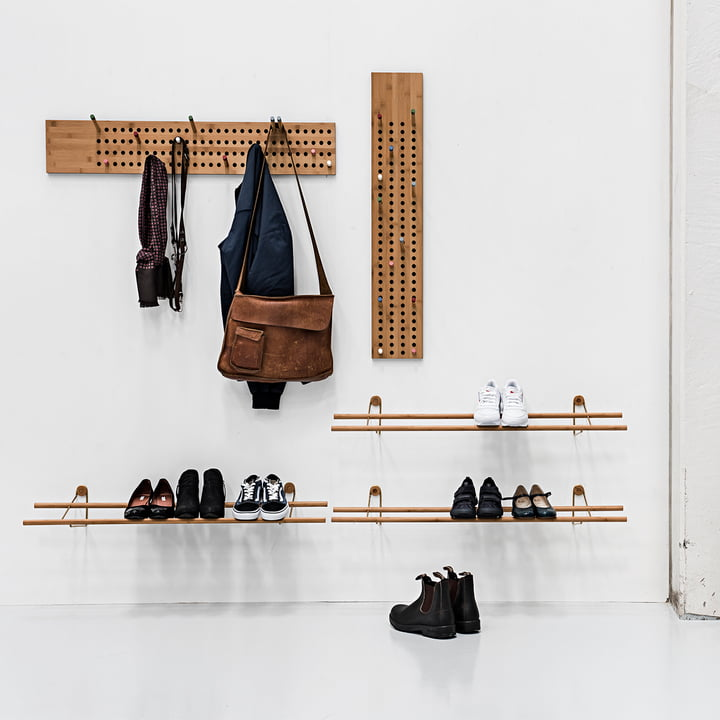 scoreboard garderobe von we do wood. Black Bedroom Furniture Sets. Home Design Ideas