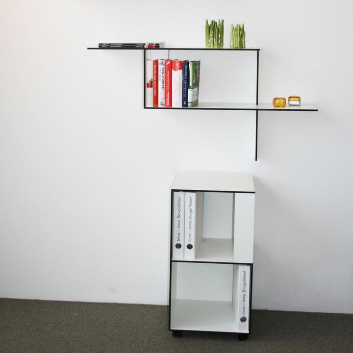 Jonas Jonas - Wallboard und Wallbox, weiss