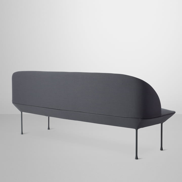 Oslo Sofa von Muuto in der Rückansicht