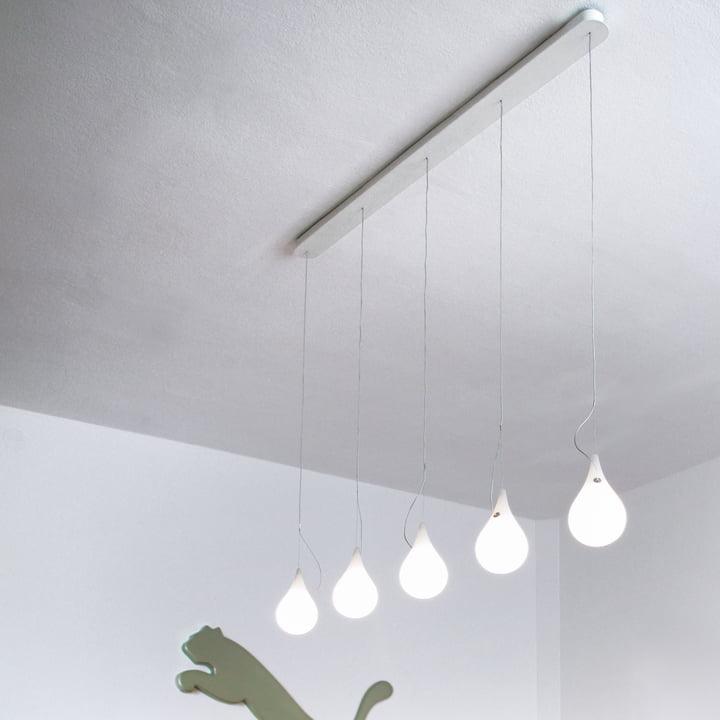 Drop_2xs 5er LED Pendelleuchte von Next Home