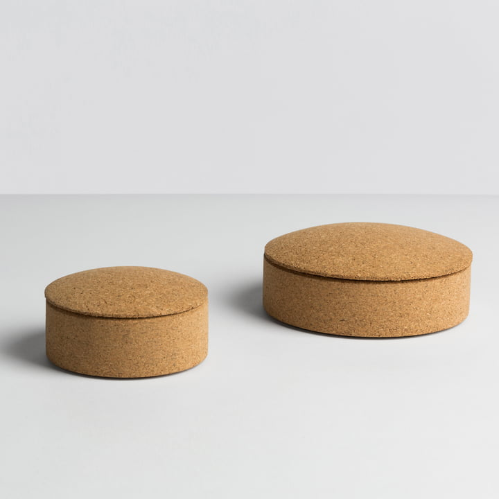 Hay - Lens Box / Deckel, Kork - Grössen