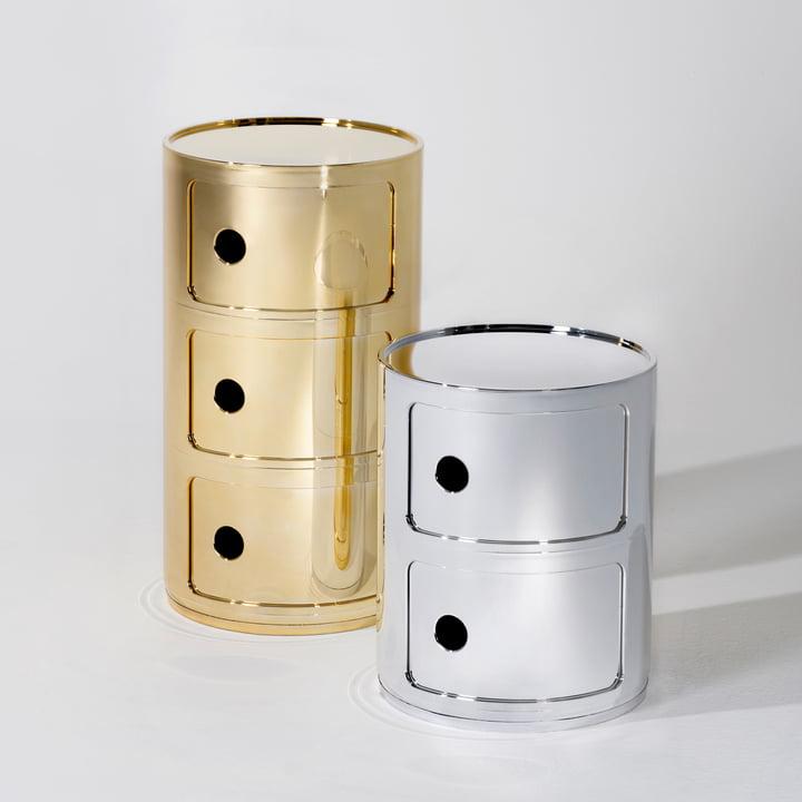 Kartell - Componibili Ø 32 cm (Metall)